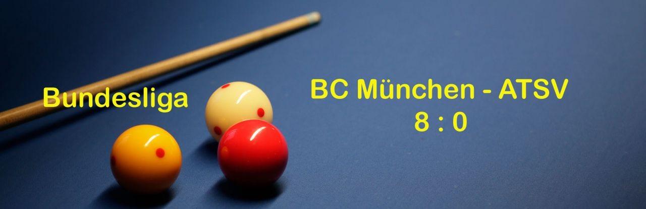 Bundesliga: Amtierender Deutscher Meister BC München zu stark